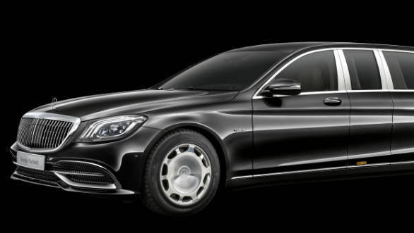 Mercedes Maybach S650 Pullman facelift unveiled
