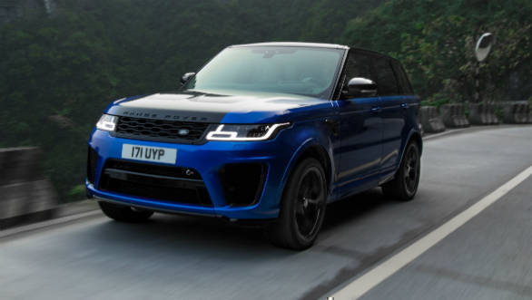 Range Rover Sport SVR sets a record on the Tianmen mountain road, beats Ferrari 458