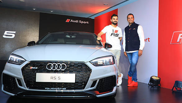 2018 Audi RS5 Coupe launched in India at Rs 1.10 crore
