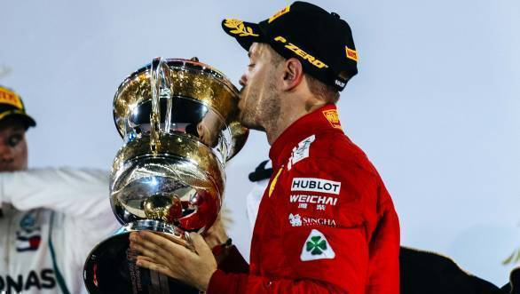 F1 2018: Ferrari's Sebastian Vettel wins Bahrain GP