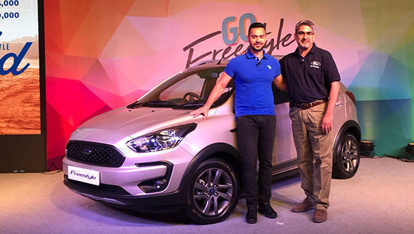 Ford Freestyle launched in India at Rs 5.09 lakh
