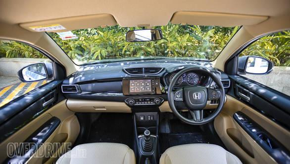 2018 Honda Amaze Priced At Rs 5 59 Lakh Ex Showroom Mumbai Overdrive