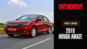 2018 Honda Amaze | First Drive Review
