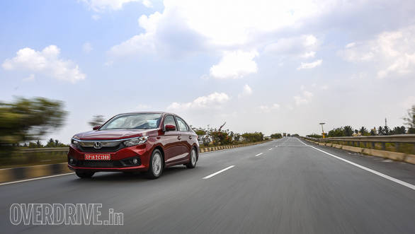 2018 Honda Amaze being offered with utility and chrome accessory packs