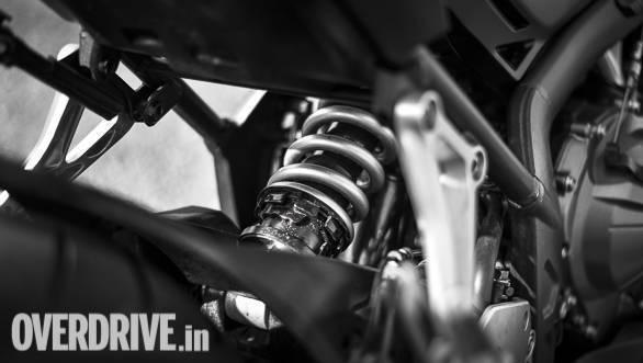 2018 Honda CBR650F Detail | rear suspension