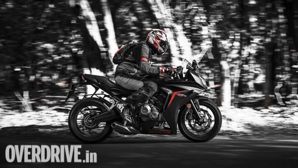 2018 Honda CBR650F Action
