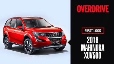 2018 Mahindra XUV500 design, features and prices