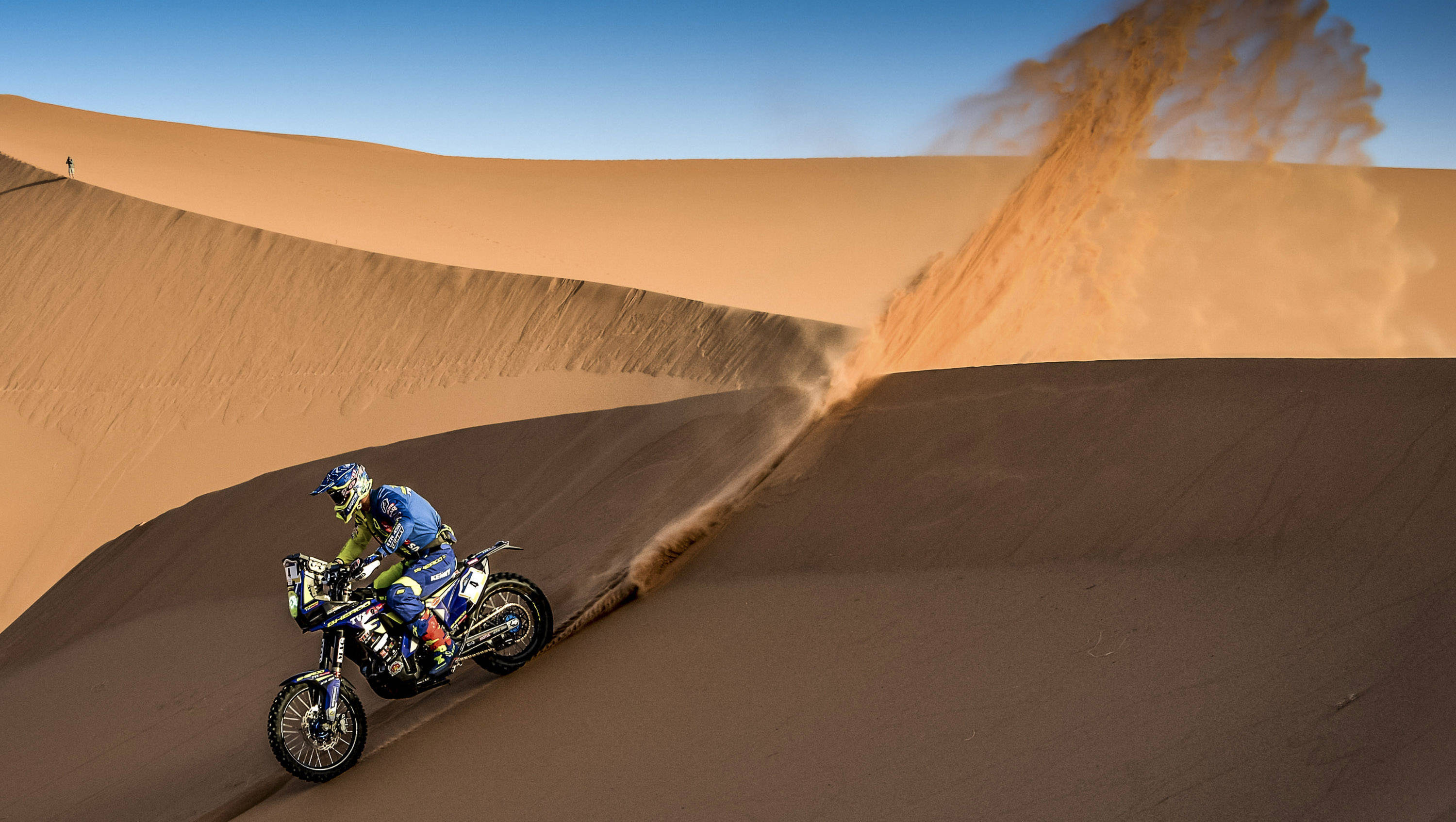 2018 Merzouga Rally: Sherco TVS rider Pedrero ranked eighth overall after Stage 2