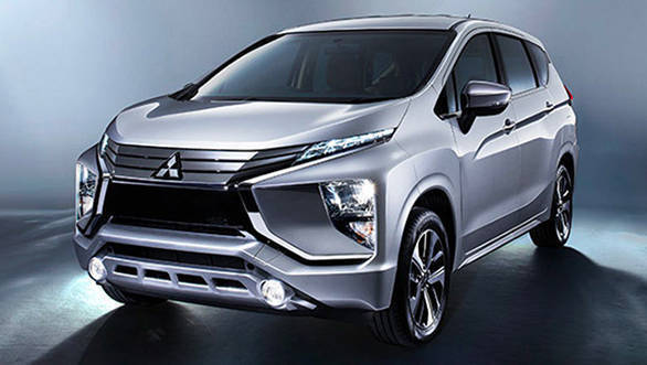 Suzuki Ertiga rival Mitsubishi Xpander MPV exports begin from Indonesia