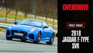 2018 Jaguar F-Type SVR - First Drive