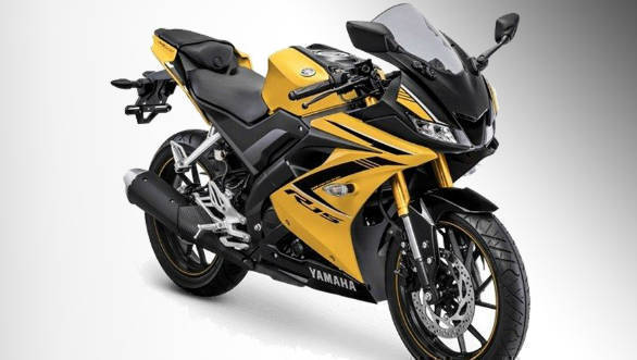 2018 yamaha yzf r15 gets new colour options in indonesia for Yamaha ns sw40 price