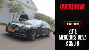 First Drive: 2018 Mercedes-Benz S 350 d