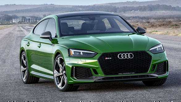 2018 New York Motor Show: 444PS/600Nm Audi RS5 Sportback showcased
