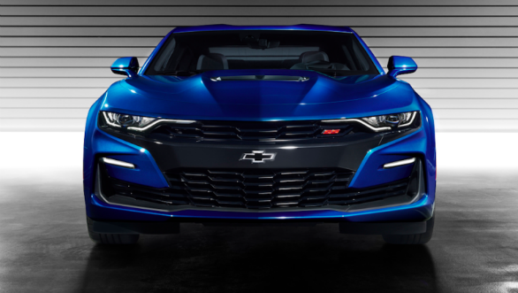 2019 Chevrolet Camaro facelift revealed in the US