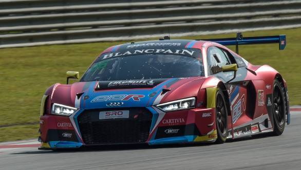 Blancpain GT Series Asia 2018: Tough outing for Patel and Gilbert at Sepang