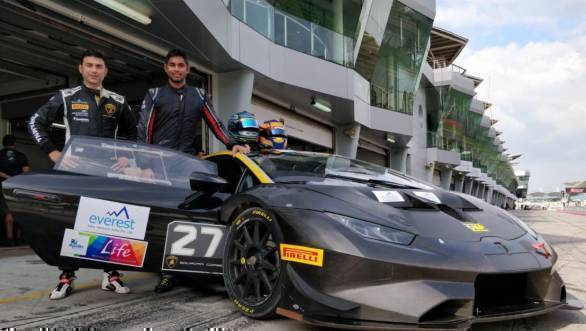 Armaan Ebrahim and Anindith Reddy team up for 2018 Lamborghini Super Trofeo Asia campaign