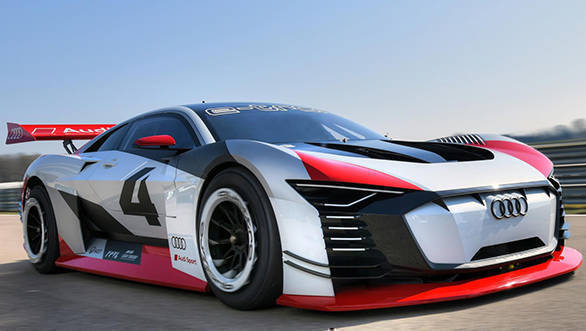All-electric Audi e-tron Vision Gran Turismo leaps into real life from PlayStation 4 game