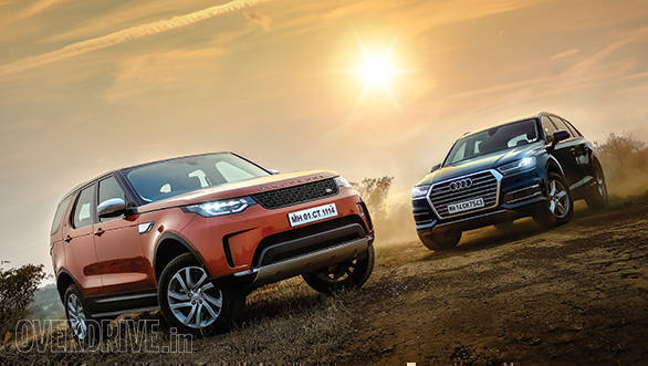 Comparison: Land Rover Discovery 3.0 HSE vs Audi Q7 40 TFSI