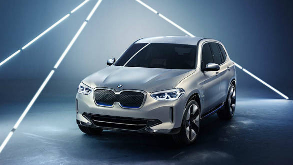 BMW  iX3 concept all-electric crossover debuts at Auto China 2018