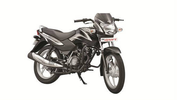 TVS Sport Silver Alloy edition launched in India at Rs 38,961