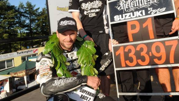 Illness rules Bruce Anstey out of 2018 Isle of Man TT