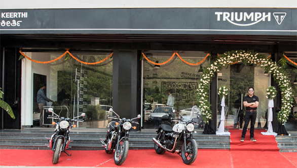 Triumph Mangalore Dealership