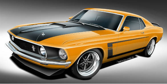 1969 Ford Mustang Boss 429, Boss 302 and Mach 1, you can buy them