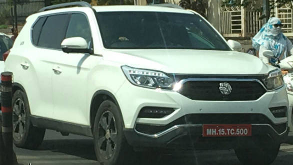 Mahindra (Ssangyong) G4 Rexton spotted testing in India