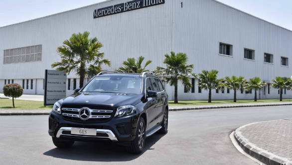 Mercedes-Benz GLS-Class Grand Edition launched in India