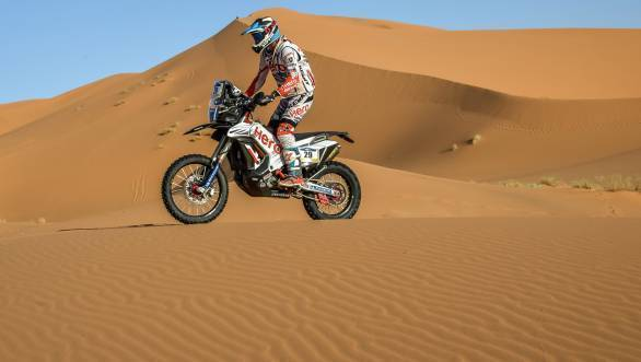 India Baja 2018: CS Santosh to lead charge for Hero Motosport Team Rally
