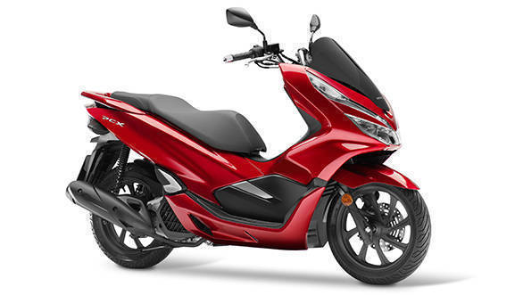 2018 Honda Pcx125 Unveiled Gets Styling And Power Update Overdrive