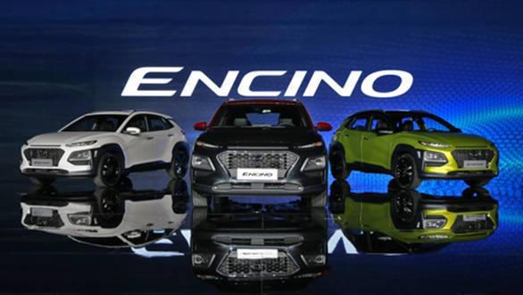 Hyundai Kona compact SUV launched as Encino in China