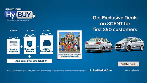 Hyundai HyBuy initiative launched for Xcent in India, offers benefits and discounts
