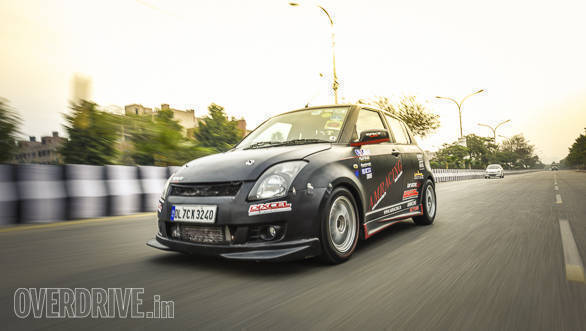 This might just be India's quickest accelerating Maruti Suzuki Swift!