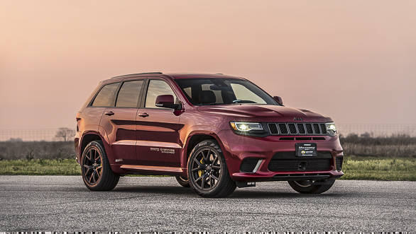 Jeep Grand Cherokee Trackhawk Can Make 1 000ps Ask Hennessey