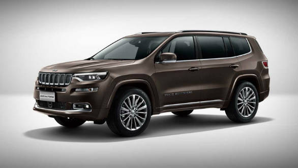 Jeep Grand Commander three-row SUV unveiled at Auto China 2018