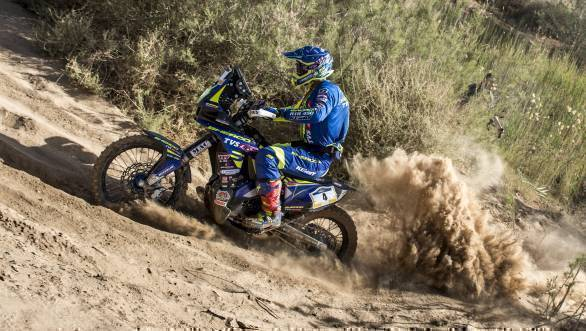 2018 Merzouga Rally: Joan Pedrero Garcia highest ranked Sherco TVS after Stage 1