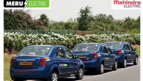 Mahindra Electric and Meru to ply eVerito EV cabs in Hyderabad