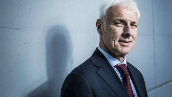 Volkswagen to replace CEO with VW brand chief Herbert Diess
