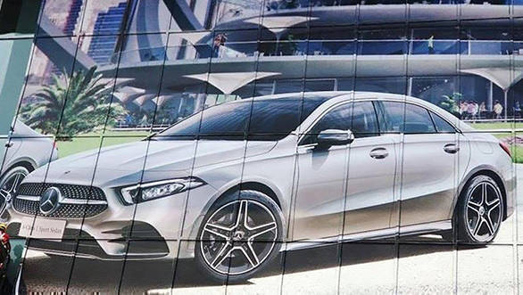 Mercedes-Benz A-Class sedan image leaked ahead of Beijing debut