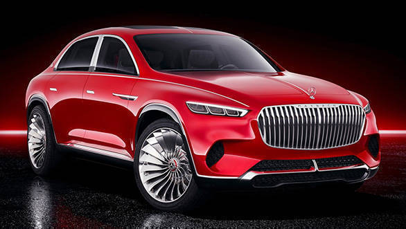 Auto China 2018 Vision Mercedes Maybach Ultimate Luxury concept