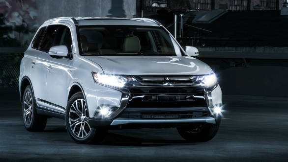 2018 Mitsubishi Outlander bookings open in India