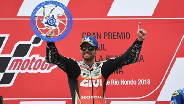 MotoGP 2018: Victory at Argentina gives Cal Crutchlow championship lead