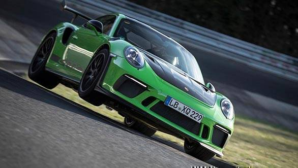 New Porsche 911 GT3 RS laps the Nurburgring in under 7 minutes