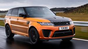 India-bound Range Rover Sport SVR first drive review