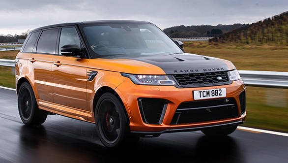 India-bound Range Rover Sport SVR first drive review - Overdrive