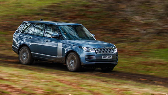 range rover p400e phev first drive review overdrive. Black Bedroom Furniture Sets. Home Design Ideas
