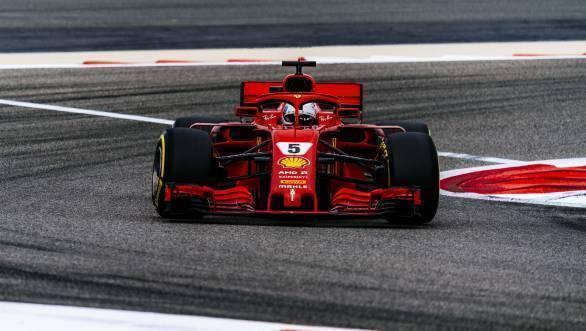 F1 2018: Sebastian Vettel claims Bahrain GP pole