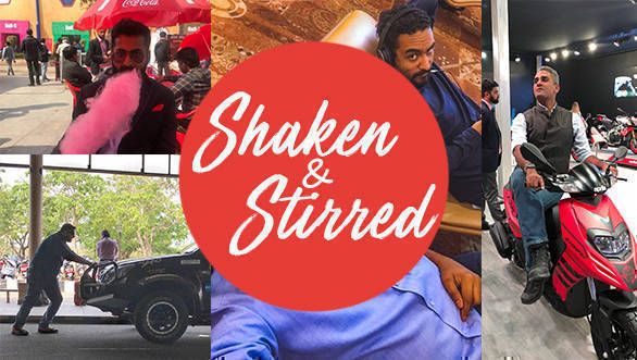 Image Gallery:  Shaken & Stirred April 2018