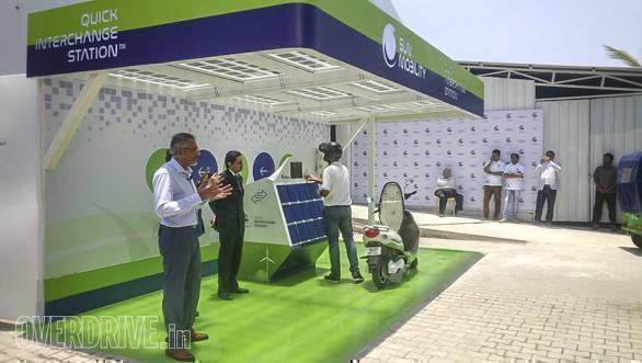 Sun Mobility launches smart battery swap platform for